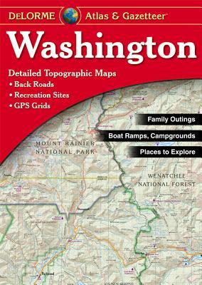 Washington - Delorme5t - Rand McNally, and Delorme Publishing Company, and DeLorme