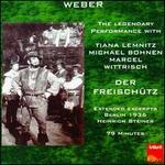 Weber: Freischütz excerpts