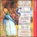 Weber: Sonaten für Flöte und Klavier, Op. 10