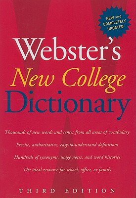 Webster's New College Dictionary - Websters Dictionary, and Houghton Mifflin Harcourt (Creator)