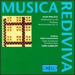 Wellesz: Violinkonzert & Prosperos Beschw�rungen