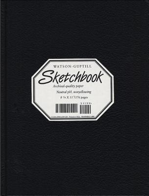Wg Sketchbook Lizard Cover 8.25 X 11 Black - Watson-Guptill