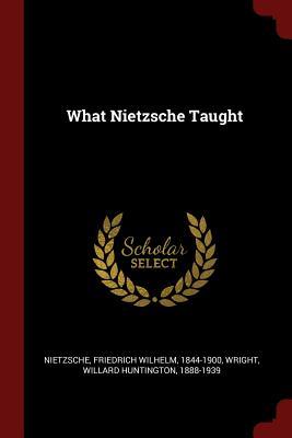 What Nietzsche Taught - Nietzsche, Friedrich Wilhelm 1844-1900 (Creator)
