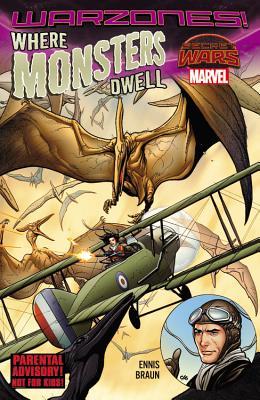 Where Monsters Dwell: The Phantom Eagle Flies The Savage Sky - Ennis, Garth