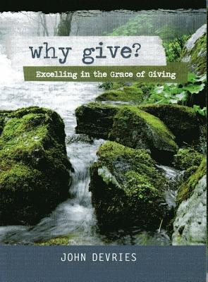 Why Give?: Excelling in the Grace of Giving - DeVries, John