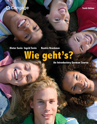 Wie Geht's?: An Introductory German Course: Student Activities Manual - Sevin, Dieter, and Sevin, Ingrid