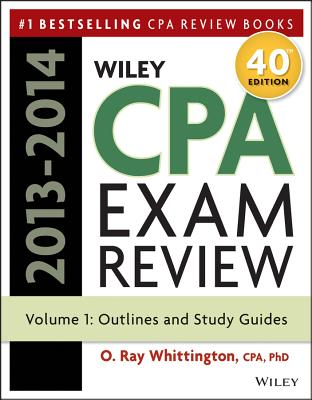 Wiley CPA Exam Review: Outlines and Study Guides, Volume 1 - Whittington, O Ray