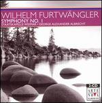 Wilhelm Furtw�ngler: Symphony No. 1