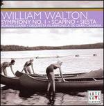 William Walton: Symphony No. 1; Scapino; Siesta