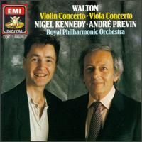 William Walton: Violin Concerto; Viola Concerto - Nigel Kennedy (viola); Nigel Kennedy (violin); Royal Philharmonic Orchestra