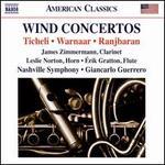Wind Concertos: Ticheli, Warnaar, Ranjbaran