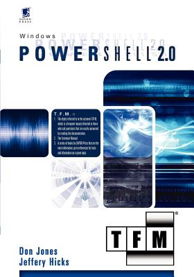 Windows Powershell 2.0 - Jones, Don, and Hicks, Jeffery