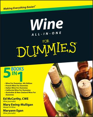 Wine All-In-One for Dummies - McCarthy, Ed