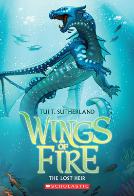 Wings of Fire Book Two: The Lost Heir - Sutherland, Tui T