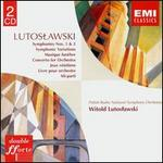 Witold Lutoslawski: Symphonies Nos. 1 & 2; Symphonic Variations; Musique fun�bre; Concerto for Orchestra; Jeux V�neti