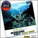 Wolf: Mörike Lieder; Pfitzner: Eichendorff Lieder - Gerald Moore (piano); Hermann Prey (baritone)