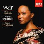 Wolf: Mörike und Goethe-Lieder
