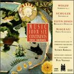 Wolff: Symphony No.2; Schulze: Snúningur; Jones: Brangwyn Overture; Mageau: Triple Concerto