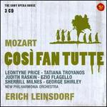 Wolfgang Amadeus Mozart: Così fan tutte - Ezio Flagello (vocals); George Shirley (vocals); Judith Raskin (vocals); Leontyne Price (vocals); Sherrill Milnes (vocals);...