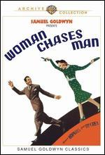 Woman Chases Man