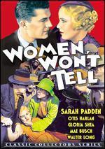 Women Won't Tell