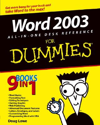 Word 2003 All-In-One Desk Reference for Dummies - Lowe, Doug