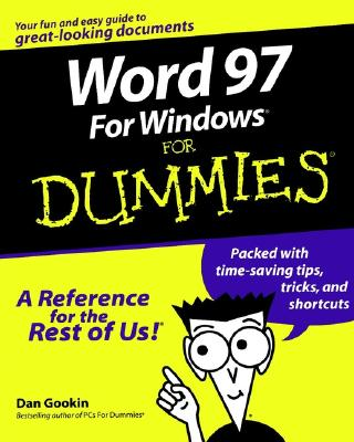 Word 97 Windows for Dummies - Gookin, Dan