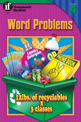Word Problems Homework Booklet, Grade 4 - Instructional Fair, and Miles Moran, Andrea, and Linderman, Bill