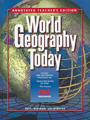 World Geography Today - Holt Rinehart & Winston (Creator)