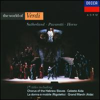 World of Verdi - Carlo Bergonzi (vocals); Christian du Plessis (vocals); Geraint Evans (vocals); Graham Clark (vocals);...