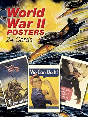 World War II Posters: 24 Cards - Leniston, Florence (Editor)
