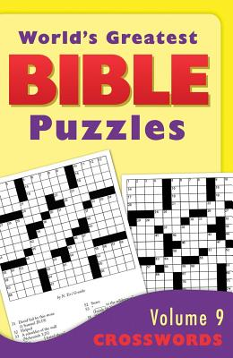 World's Greatest Bible Puzzles, Volume 9: Crosswords - Barbour Publishing, Inc (Creator)