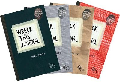Wreck This Journal Bundle Set - Smith, Keri