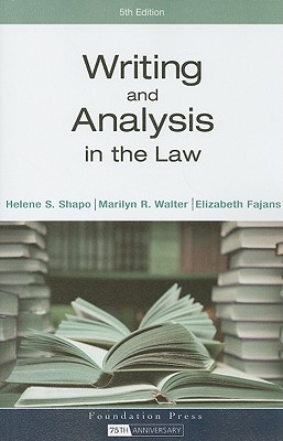 Writing and Analysis in the Law -