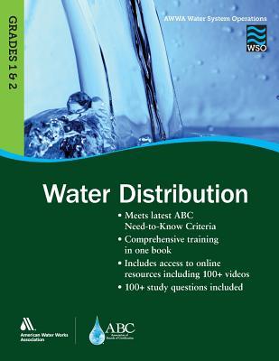 Wso Water Distribution, Grades 1 & 2 - Awwa