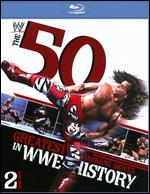 WWE: The 50 Greatest Finishing Moves in WWE History [2 Discs] [Blu-ray]