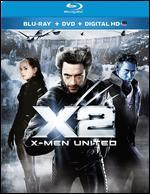 X2: X-Men United [2 Discs] [Includes Digital Copy] [UltraViolet] [Blu-ray] - Bryan Singer