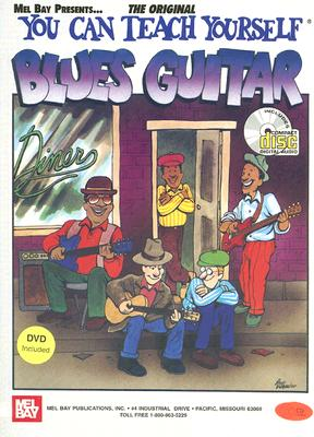 You Can Teach Yourself Blues Guitar - Christiansen, Mike