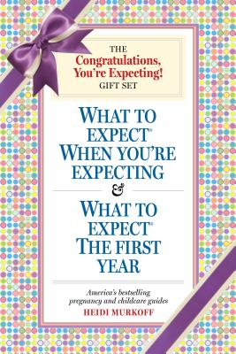 You're Expecting Gift Set: What to Expect When You're Expecting & What to Expect the First Year - Murkoff, Heidi