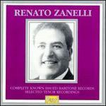 Zanelli: Complete Baritone Recordings