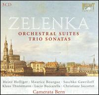 Zelenka: Orchestral Works; Trio Sonatas - Alexander van Wijnkoop (violin); Barry Tuckwell (horn); Camerata Bern; Christiane Jaccottet (harpsichord);...