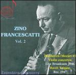 Zino Francescatti, Vol. 2: Beethoven / Mozart #3 Violin concertos