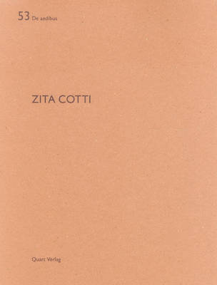 Zita Cotti: de Aedibus 53 - Jenatsch, Gian-Marco